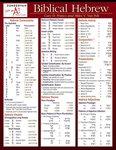 Biblical Hebrew Chart