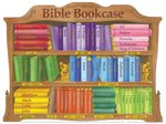 Wall Chart - Bible Bookcase (Laminated)