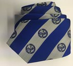 Tie - CTSFW Necktie Blue and Silver w/Seal