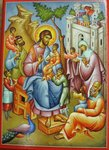 Icon - Christ Blessing the Children Medium