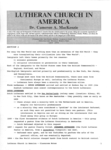 Lutheran Church in America, Classroom Notes