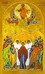 Icon - The Ascension 8 X 10 Matted Print