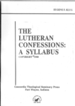 Lutheran Confessions: A Syllabus
