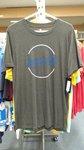 T-Shirt - Small Dark Smoke Heritage Colored w/Circle