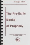 Pre-Exilic Books of Prophecy