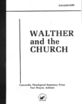 Walther and the Church