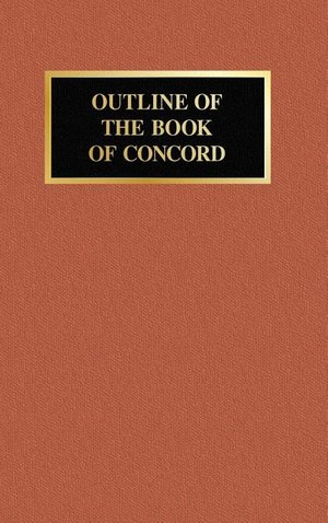 Outline of the Book of Concord