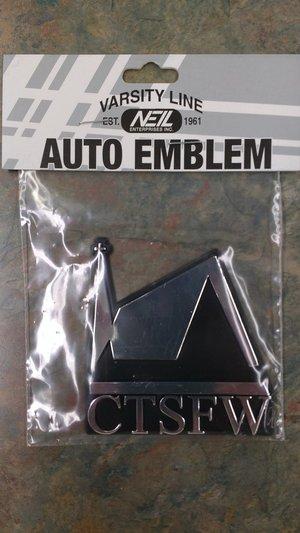 Auto Emblem - CTSFW Chapel