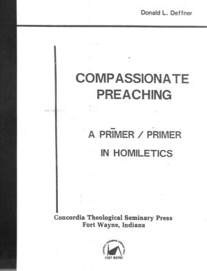 Compassionate Preaching