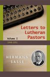 Letters to Lutheran Pastors Vol. I
