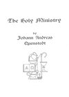 The Holy Ministry