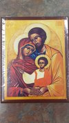 Icon - The Holy Family Small Wooden
