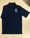 Polo Shirt - Small Navy w/White Chapel