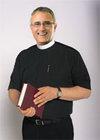 Clergy Shirt SS Neckband Black 18