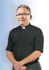 Clergy Shirt SS Tab Black 15.5